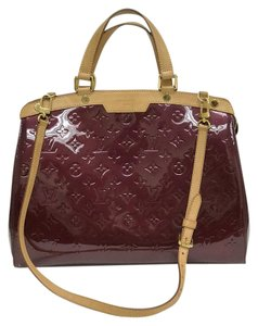 Louis Vuitton Satchel in burgundy