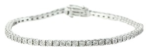 Tennis Diamond Bracelet Annabella Diamond Tennis Silver Ladies Bracelet