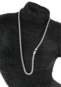 David Yurman * David Yurman Box Chain (4.60mm thickness) Necklace