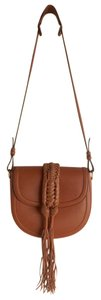 Altuzarra Leather Braided Strap Shoulder Bag