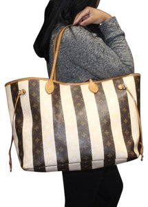 Louis Vuitton Neverfull Gm Monogram Rayures Tote