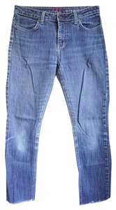 Urban Outfitters Cutoff Skinny Jeans-Medium Wash