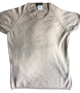 Loro Piana Cream Wool Top Nude