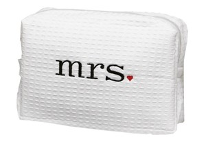 Mrs. Wedding Accessories Travel Bag For Newlywed Bride To Carry Around Perfect Newlywed Gift Accessory Bag
