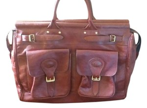 Baccio Couture Rust Travel Bag