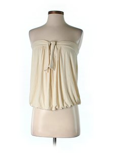 Plenty by Tracy Reese Strapless Top Ivory