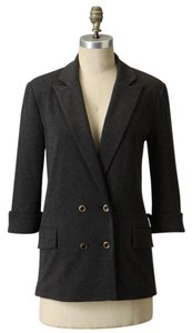 Anthropologie Ponte Beau Cartonnier GRAY Blazer