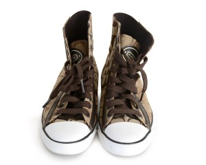 Coach Sneakers Canvase Brown Athletic