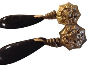 Authentic French Vintage earrings Antique French Drop Earrings.