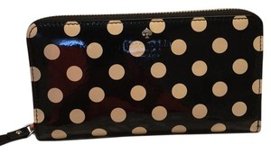 Kate Spade Wristlet in Black/cream