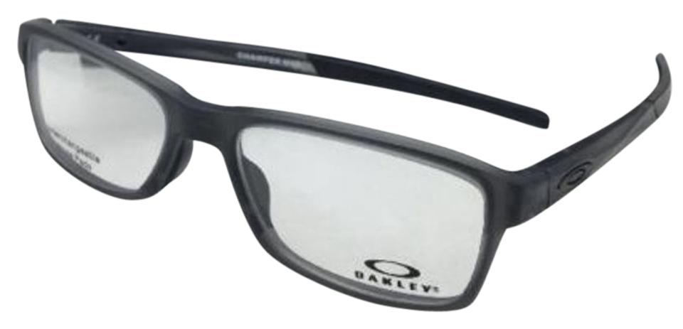 e7cb36ff30 Oakley New OAKLEY Eyeglasses CHAMFER MNP OX8089-0356 56-17 Satin Grey Smoke  Image ...