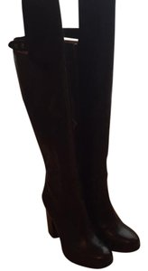 Frye Otk Thigh Black Boots