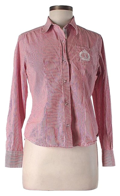 Saint james striped button down shirt 80 off retail for St james striped shirt