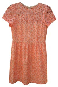 MM Couture Bright Lace Dress