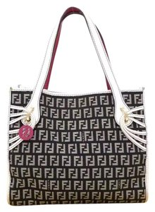 Fendi Satchel in black & white