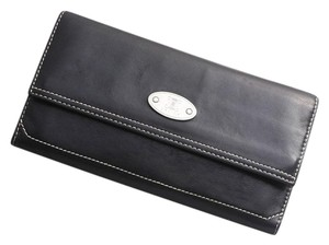 Céline Vintage Bi-Fold Large Multifunction Wallet Clutch