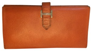 Hermès Long Orange Bearn