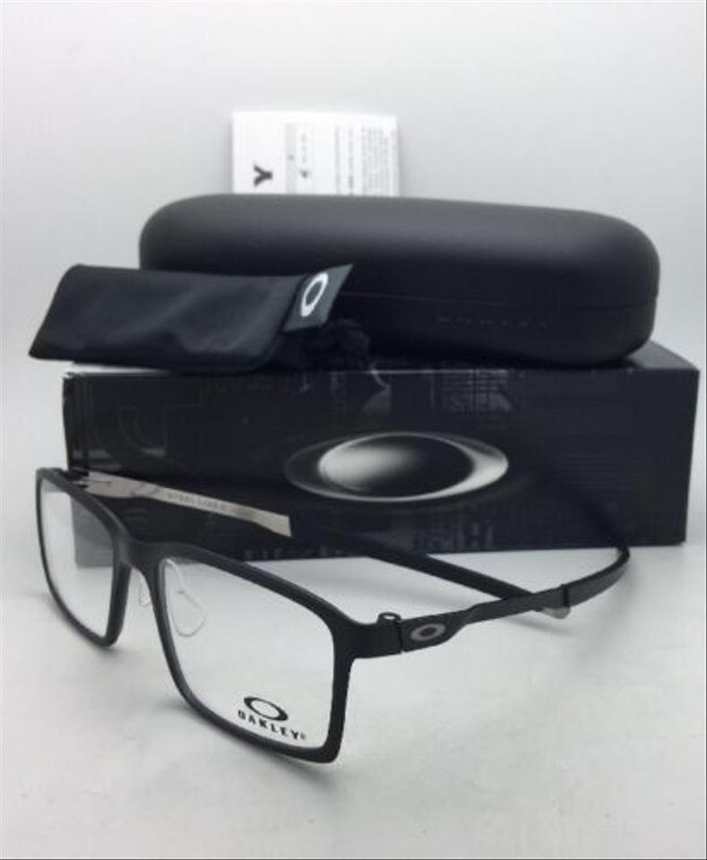 6a410b285b Oakley New OAKLEY Eyeglasses STEEL LINE S OX8097-0154 54-17 Satin Black  Frame