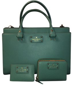 Kate Spade Satchel in Teal