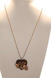 Betsey Johnson Betsey Johnson Necklaces gold tone Fly with me pendant