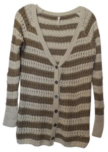 Willow & Clay Light Anthropologie Medium Cable Cardigan