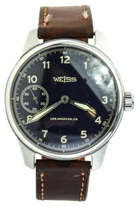 Weiss Furs * Weiss Field Mechanical Watch