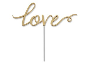 Elegant Gold Acrylic Cake Topper Love Letters Love Gold Cake Topper For Elegant Weddings Love Letter Cake Toppers