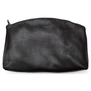 BAGGU Leather Made In The Usa Black Clutch