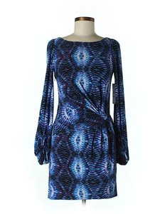 Laundry by Shelli Segal Shift Print Dress