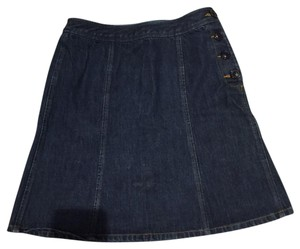 The Limited Skirt Blue Jean