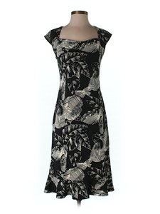 BCBGMAXAZRIA Floral Shift Dress