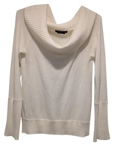 BCBGMAXAZRIA White Fall Sweater