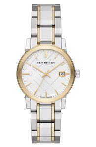 Burberry Medium Check Stamped 34mm Bracelet Watch