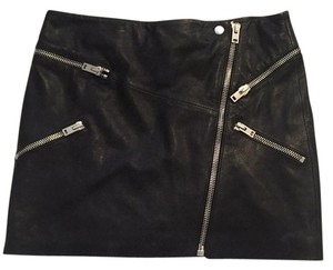 The Kooples Mini Skirt Black