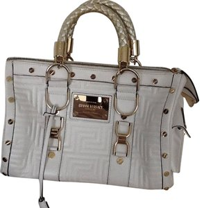 Versace Satchel in Cream