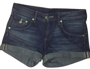 H&M Cuffed Shorts Blue Jeans