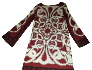 Nicole Miller Work Printed With Tags Bell Sleeves Dress