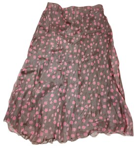 Philosophy di Alberta Ferretti Skirt Grey and pink