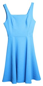 Soprano short dress aqua blue A-line Party Sleeveless on Tradesy