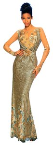 MNM Couture Evening Gown Glitter Evening Long Party Dress