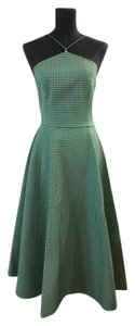 Michael Kors Collection short dress Green and White Size 4 on Tradesy