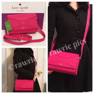 Kate Spade Pebbled Leather Soft Leather Cross Body Bag
