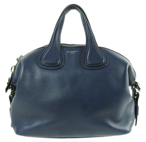 Givenchy Waxy Leather Shoulder Bag