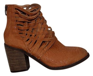 Free People Carrera Woven Hybrid Brown Boots