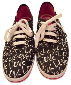 Kate Spade Keds Keds For And Black, white, pink Athletic