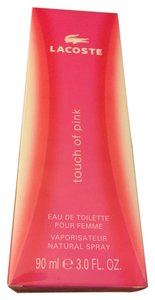 Lacoste TOUCH OF PINK by LACOSTE Eau de Toilette EDT Spray ~ 3.0 oz / 90 ml