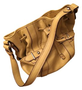 Tignanello Satchel in Goldenrod