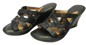 Børn Leather Size 9.00 M Black Sandals