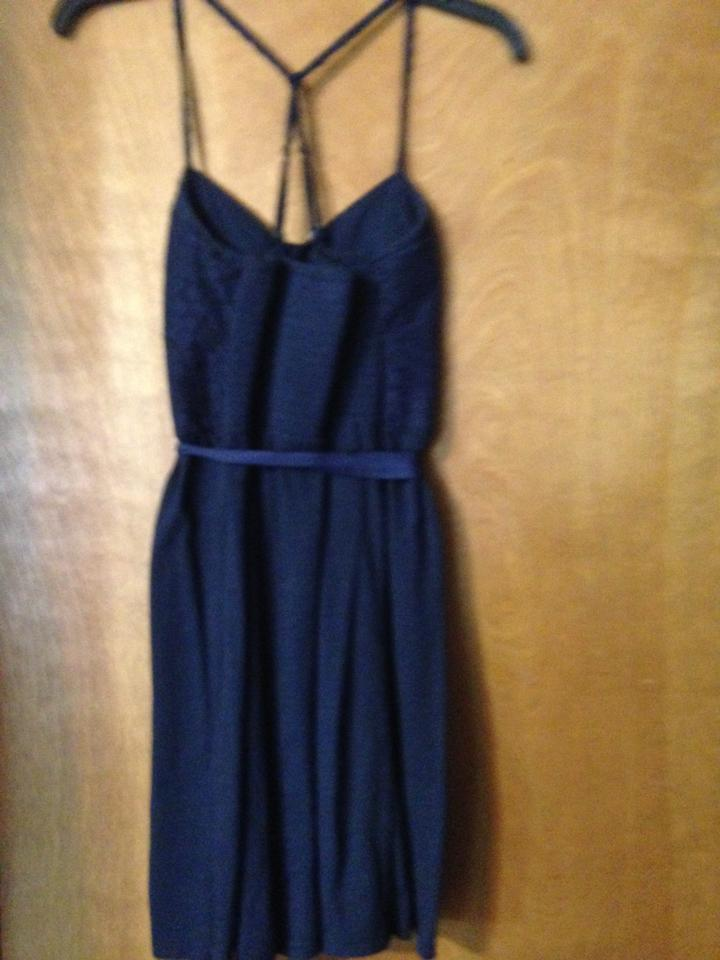 6c48a169c0 American Eagle Outfitters short dress Navy Lace Racerback Tie on Tradesy  Image 4. 12345