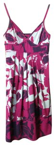 American Eagle Outfitters short dress Magenta and purple Floral on Tradesy